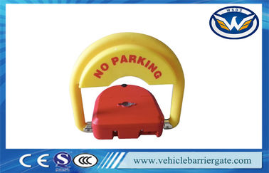 ประเทศจีน CE Approved car parking space protector , Remote Control Parking Barrier Lock ผู้ผลิต