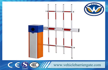 ประเทศจีน Driveway RFID Parking Lot Barrier System Traffic Barrier Gate With Fence Barrier Arm ผู้ผลิต