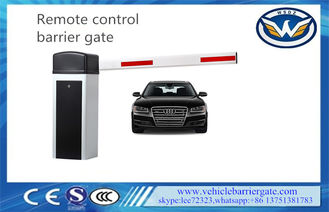 ประเทศจีน Wireless Control Driveway Barrier Gates 6s 6m Aluminum Alloy Swing Out ผู้ผลิต