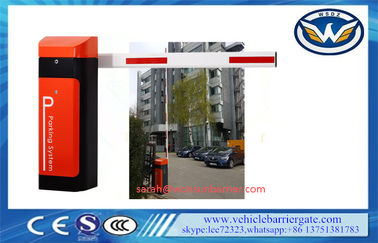 ประเทศจีน 80W arm automatic barrier gate Operator With AC Reliable Electro Mechanical Drive ผู้ผลิต
