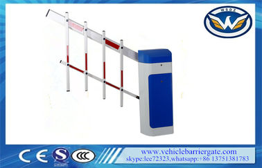 ประเทศจีน Clutch Device Toll Barrier Gate 1 - 6 Meters Aluminum Alloy Straight Arm ผู้ผลิต