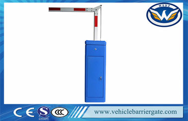 ประเทศจีน 2mm Cold Rolled Sheet Vehicle Parking Lot Barriers Free Logo Printing โรงงาน