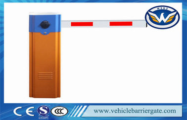 ประเทศจีน Vehicle Access Control Automatic Barrier Gate With Max 6m Straight Arm ผู้จัดจำหน่าย