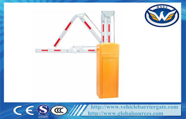 ประเทศจีน Traffic Barrier Gate With Straight Boom And Auto - Closing Function โรงงาน
