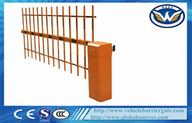 ประเทศจีน RFID Automated Motorised Boom Gate Intelligent Barrier Parking Barrier Retractable ผู้จัดจำหน่าย