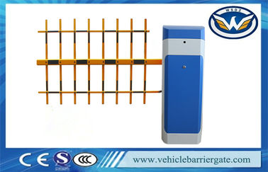 ประเทศจีน Vehicle Access Controlled Automatic Parking Lot Gates With Boom Length 6m โรงงาน