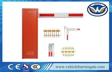 ประเทศจีน Vehicle Barrier Arm Gate , Security Boom Barriers For Parking Lot Management System ผู้จัดจำหน่าย