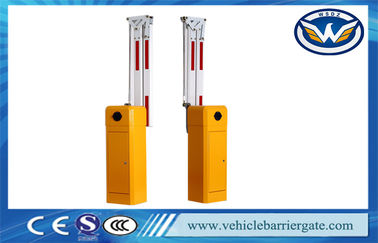 Durable Vehicle Park Led Boom Barrier System For Highway Toll Gate Station