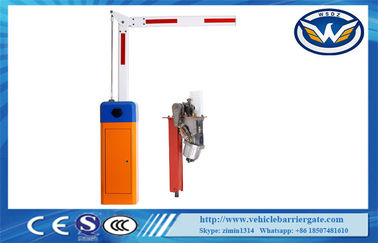 ประเทศจีน Stainless Steel Parking Traffic Barrier Gate / Automatic Car Park Barriers Access Control ผู้จัดจำหน่าย