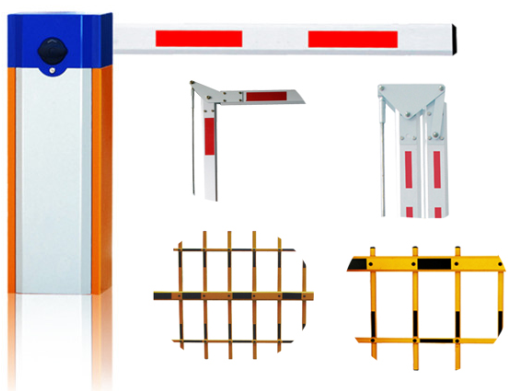 Automatic Barrier Gate Accessorirs With LED Light For Telescopic Arm