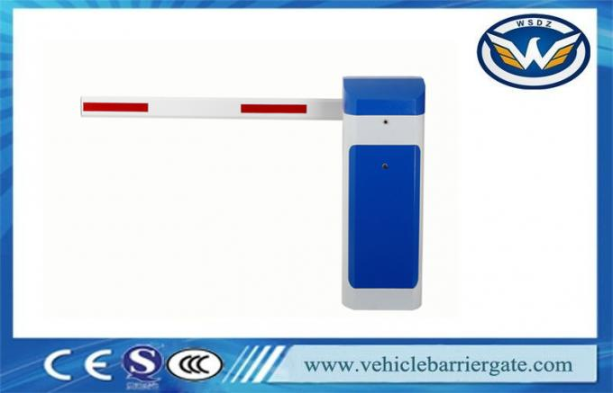 Updated RFID Photocell Driveway Barrier Gates Swing Out Logo Print
